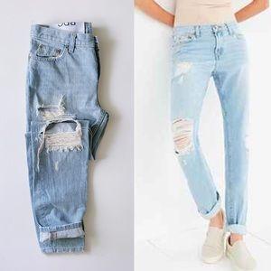NWOT BDG Slim Boyfriend Jeans in Wave